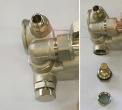 Балансировочно-запорный клапан радиаторного контура