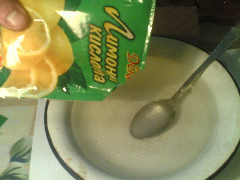 лимонная кислота освежает ковролин