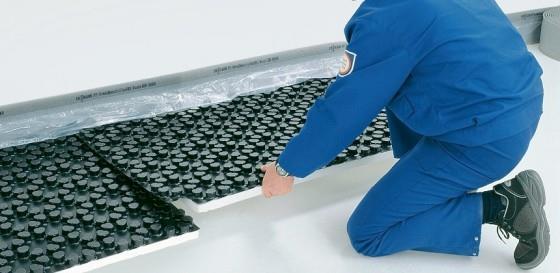 теплоизоляция, теплый водяной пол, пенопласт для теплого пола,