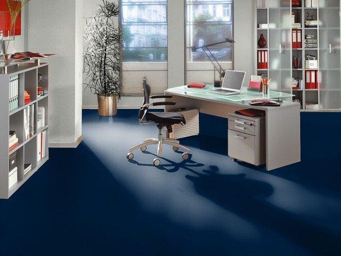 Цветной ламинат отличное решение для офиса