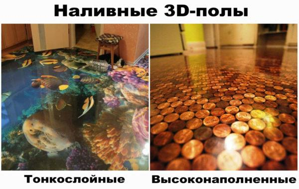 Оригинальные 3D-полы