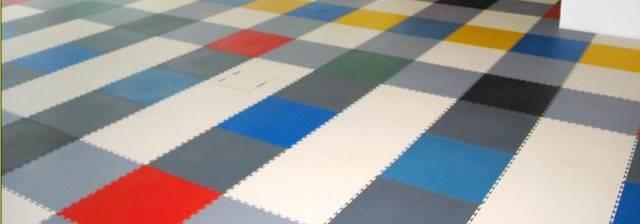 Цветная виниловая плитка