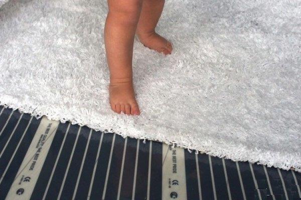 ИК система под ковровыми покрытиями