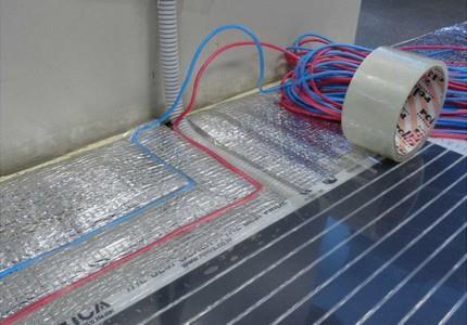 Подведение электропроводов