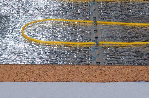 фольгированная подложка под теплый пол SEDACOR