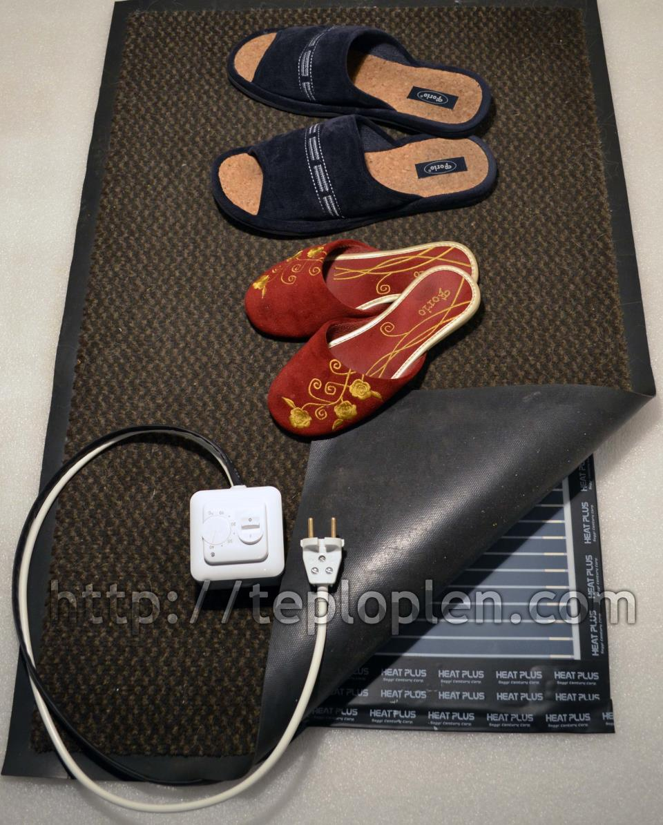 Теплый коврик - это мобильный теплый пол под ковер, под линолиум, под ковролин.