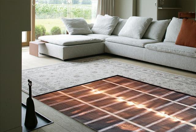 Теплый пол под ковер - это готовый комплект теплого пола для укладки под ковер, ковролин, ламинат, линолеум.