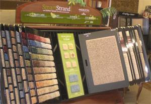 Оформление мест продаж напольных покрытий