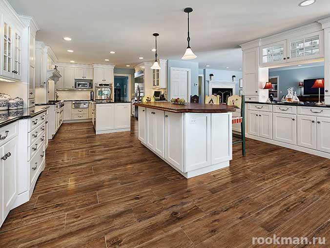 Фото ламината на кухне