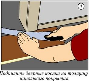 подрезка ламинат своими руками - фото инструкция