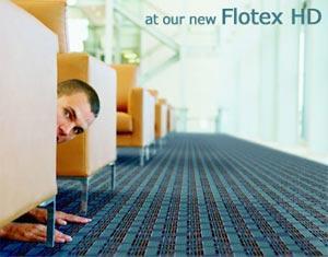 Коммерческий ковролин Flotex