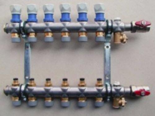 Коллектор для водяного тёплого пола