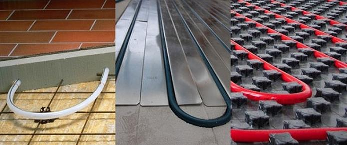 Настильная и бетонная система водяного теплого пола