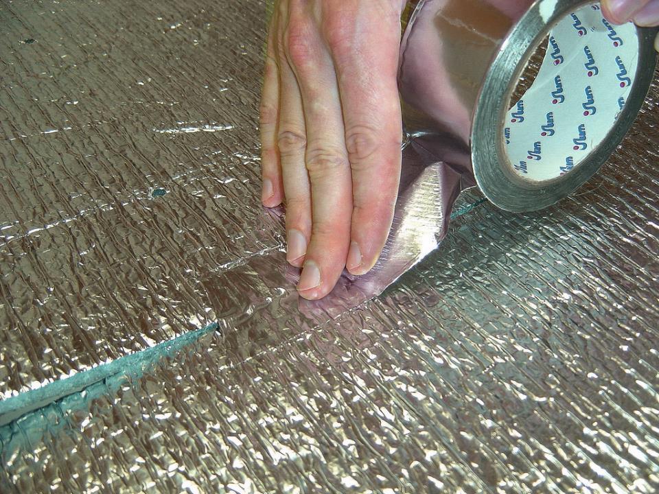 Подготовка поверхности под теплый стержневой пол