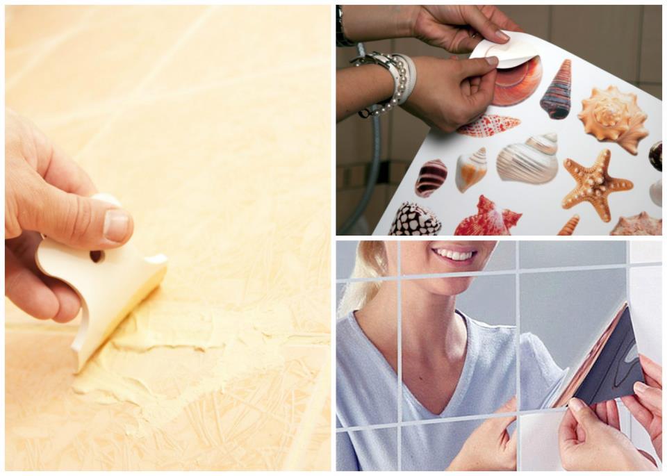 Методы декорирования дефектов плитки