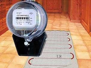 Контролируем энергопотребление теплых полов