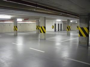 бетонный пол для парковки