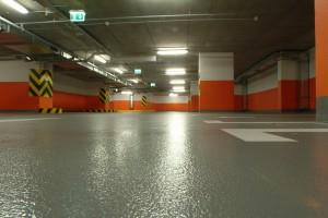 полы для парковок и паркингов