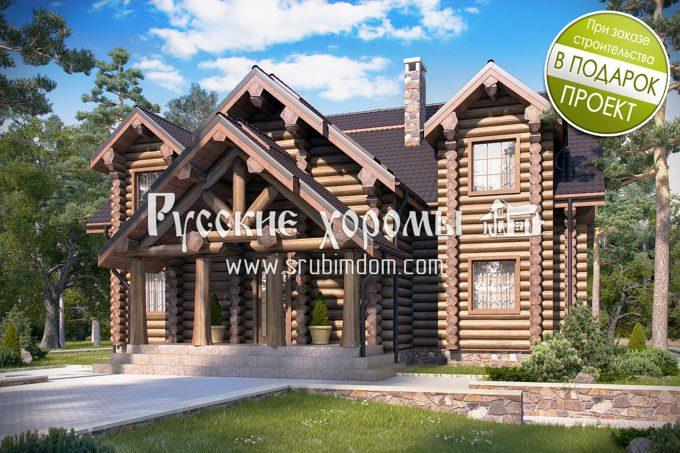 Деревянные дома - сваи, цоколь и утепление пола