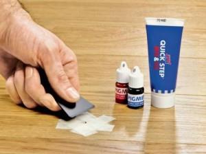 Как убрать царапину ремонтным набором