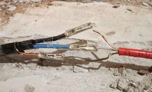 подсоединение проводов