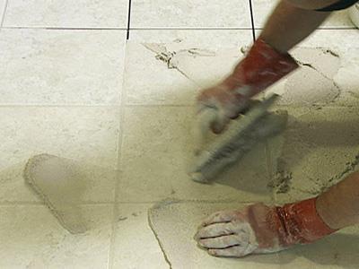 Чем отмыть напольную плитку