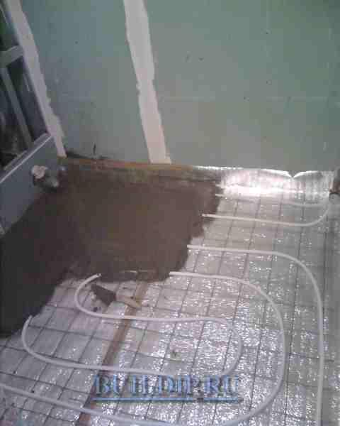 Водяной теплый пол в квартире.