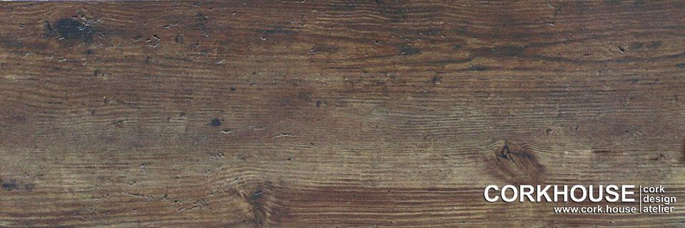 Вид греческого дуба у вас на полу, принт нанесен на клеевое пробковое покрытие