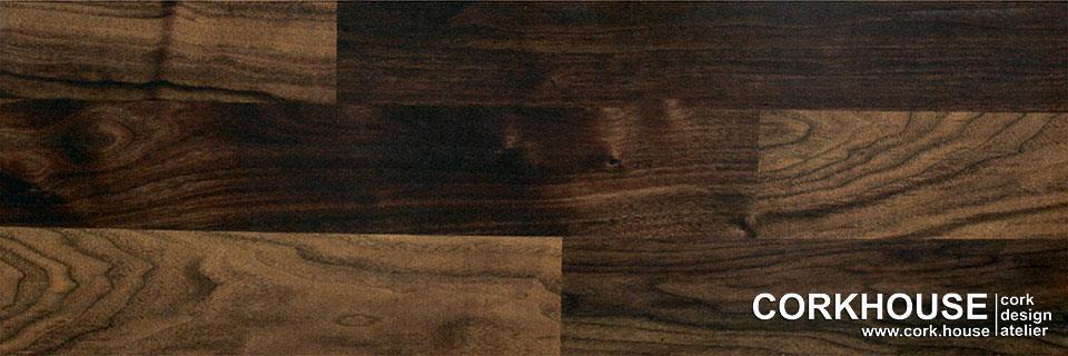 Американский пол, принт нанесен на клеевое пробковое покрытие