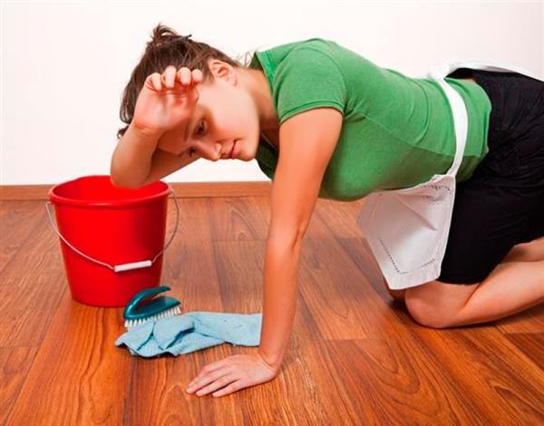 Трудные работы по мытью полов