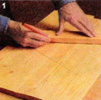как сделать мебельный щит