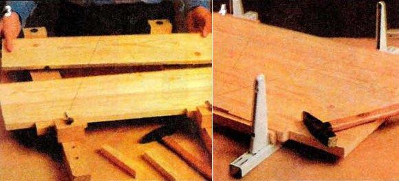 как самому сделать мебельный щит