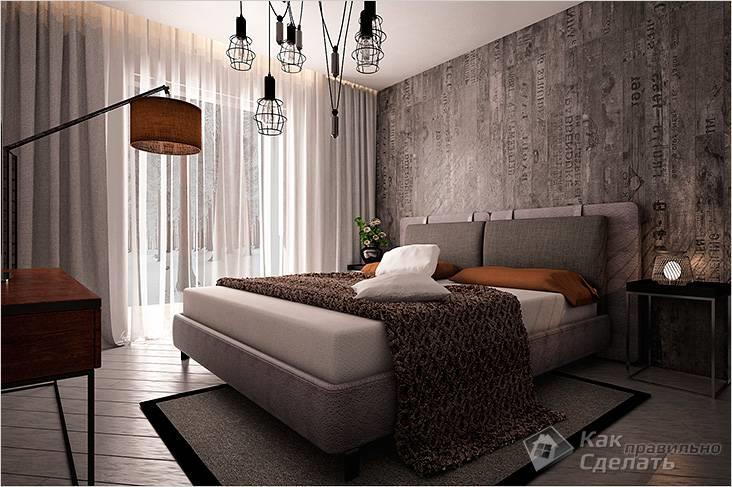 Необычная реализация в спальне