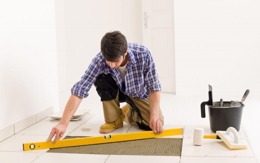 Для того чтобы система теплого пола исправно работала, а покрытие имело длительный эксплуатационный срок, укладку плитки стоит начинать только после полного высыхания стяжки