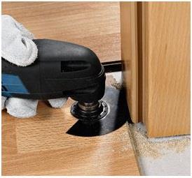Универсальный инструмент для подрезки дверной коробки.