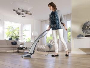 Использование моющего пылесоса