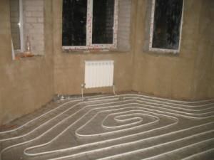 теплый пол с подключением к радиаторам