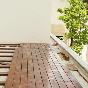 Деревянное напольное покрытие для террасы