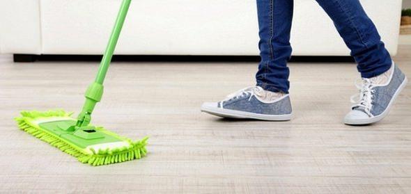 как мыть ламинат чтобы не было разводов