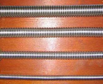 Труба-гофра, изготовленная из нержавеющей стали