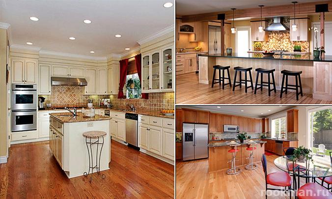 Виниловый ламинат - идеальное решения для вашей кухни