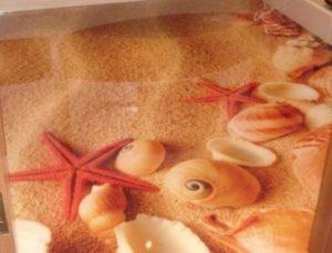 Морские звезды пола для ванной