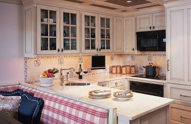 Как оформить кухню в стиле кантри — выбираем мебель, отделку и декор