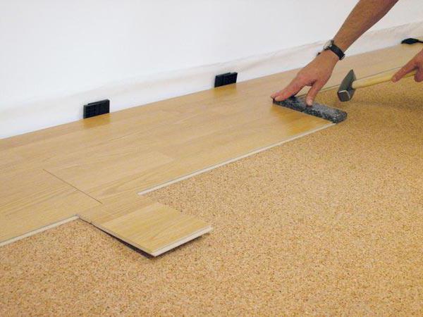 подложка под ламинат на деревянный пол фото