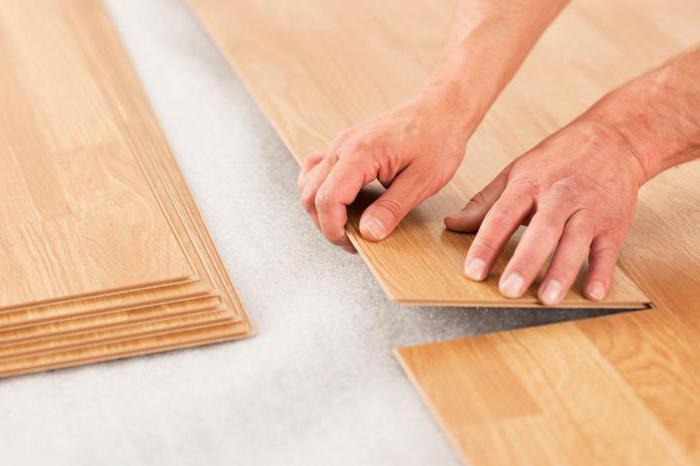 подложка под ламинат на неровный деревянный пол