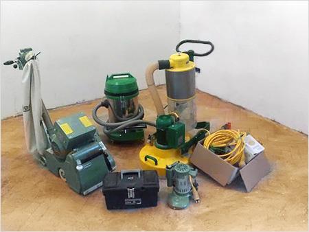 Оборудование для циклевки и шлифовки паркета
