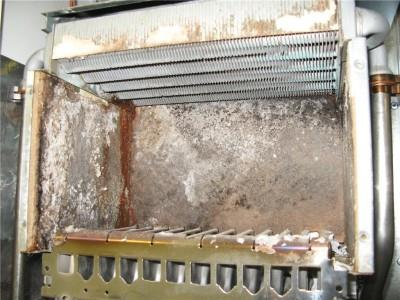 течь системы отопления