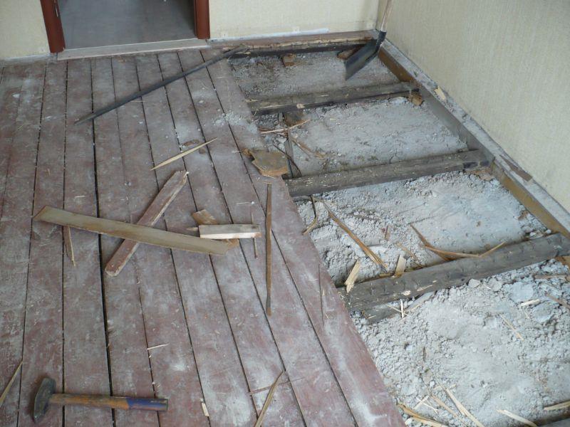 Ремонт деревянного покрытия