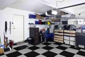 ПВХ покрытие в гараже