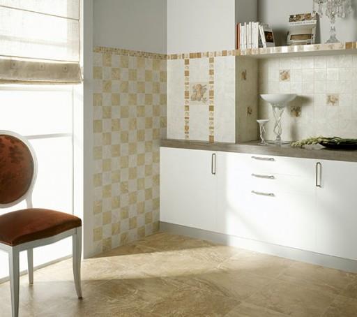 Для оформления кухни кафельная плитка - один из оптимальных вариантов